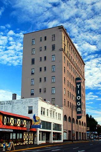 Coos Bay, Oregon - Tioga Building