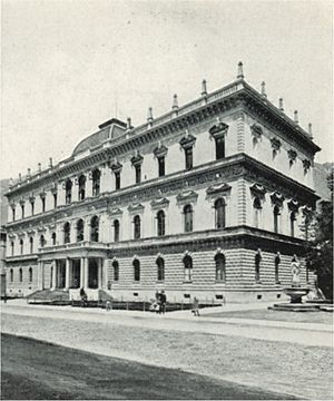 Tyrolean State Museum - The State Museum around 1898