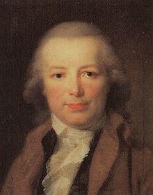 Karl August Böttiger, Gemälde von Johann Friedrich August Tischbein, 1795, Gleimhaus Halberstadt (Quelle: Wikimedia)