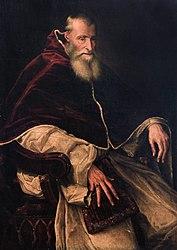 Titian: Portrait of Pope Paul III
