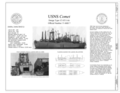Title Sheet - USNS Comet, Suisan Bay Reserve Fleet, Benicia, Solano County, CA HAER CA-348 (sheet 1 of 8).png