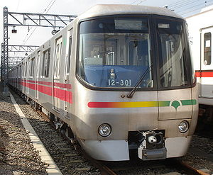 Toei 12-000 series - Set 30 in October 2006