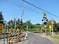Tokyoji Level Crossing, in Toyokawa, Aichi (2018-04-29).jpg