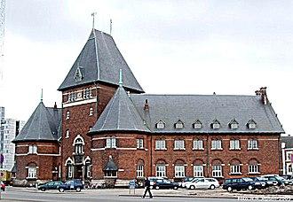 Indre By, Aarhus - Image: Toldbod aarhus 2005