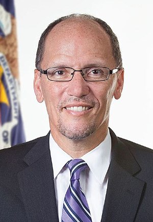 Democratic National Committee chairmanship election, 2017 - Image: Tom Perez (cropped)