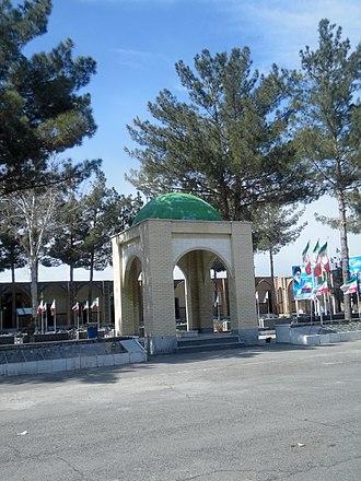 Nur-Ali Shushtari - Tomb of Nur Ali Shushtari - Fazll Cemetery - Nishapur