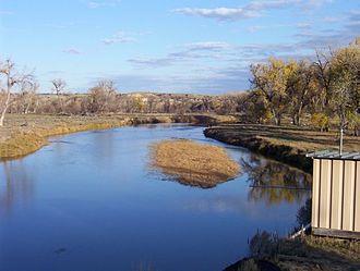 Tongue River (Montana) - Image: Tongue river