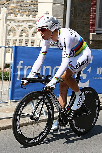 Tony Martin (cyclist) - Martin on his way to victory on Stage 11 of the 2013 Tour de France