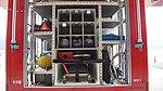 Tool box of JMSDF Rescue vehicle(Hino Dutro, 41-2311) behind view at Maizuru Air Station July 29, 2017.jpg