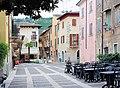 Torri del Benaco, the Piazza Umberto.JPG