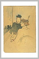 Toulouse-Lautrec - Deux femmes assises au café.jpg