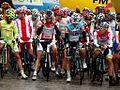 Tour de Pologne 2012, Przed rozpoczęciem etapu (7718945082).jpg