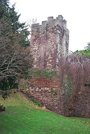 Bonville–Courtenay feud - Tower at Exeter castle