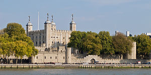 Lieutenant of the Tower of London - The Tower of London seen from the Thames