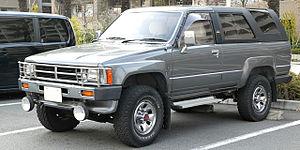 Toyota 4Runner - 1987–1989 Toyota Hilux Surf
