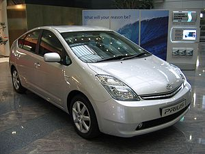 Prius is a hybrid electric vehicle.