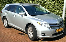 Toyota Venza The Netherlands Facelift