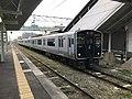Train for Nogata Station at Sasaguri Station.jpg