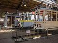 Trams in tramremise - Openluchtmuseum, Arnhem.jpg