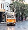 Tramway in Sofia in Alabin Street 2012 PD 037.jpg