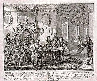 Treaty of Nystad - Image: Treaty of Nystad