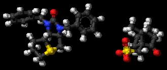 Trimetaphan camsilate - Image: Trimetaphan camsilate 3D ball