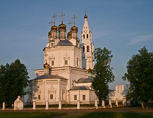Verkhoturye - The Trinity Cathedral was built in 1703-12
