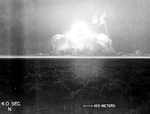 Trinity Test - Alamogordo, NM - July 16, 1945....