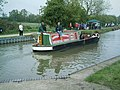 Trip Boat on an outing at the Moira Festival - geograph.org.uk - 1523286.jpg