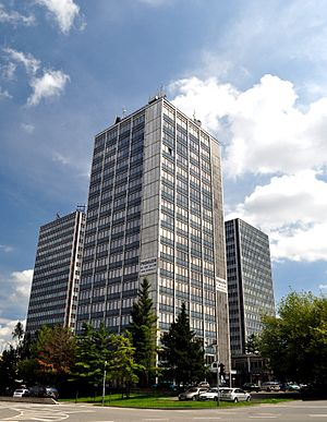 South Moravian Region - Office towers in Brno