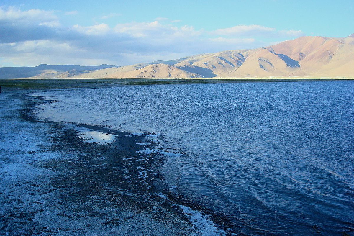 Tso Kar Lake is situated in the Rupshu Valley Ladakh