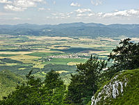 Turiec Basin from Drieňok.jpg