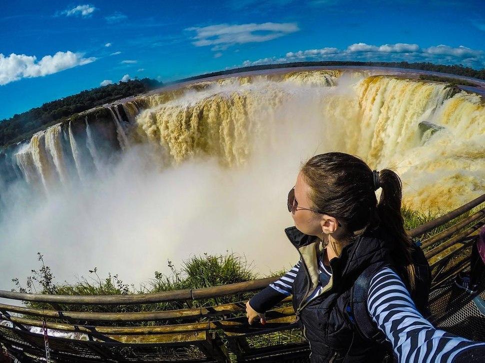 Turist iguazu Argentina latin america