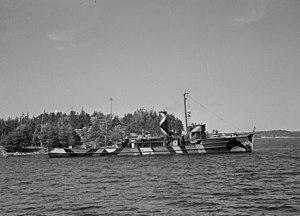 Finnish gunboat Karjala - Image: Tykkivene Karjala (SA kuva 23621)