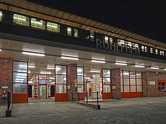 Ruhleben (Berlin U-Bahn) - Northern entrance