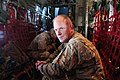 U.S. Air Force Chief Master Sgt. Frank Batten III, with the 9th Air and Space Expeditionary Task Force-Afghanistan, poses for a photo in a C-130 Hercules aircraft over Kandahar province, Afghanistan, May 6 130506-A-CL397-007.jpg