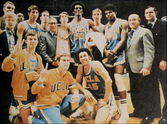 1970–71 UCLA Bruins men's basketball team - UCLA after winning the national championship
