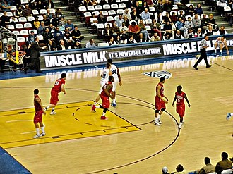 Richmond Spiders men's basketball - UCLA vs. Richmond, Los Angeles Sports Arena, December 23, 2011