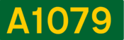 A1079 road shield