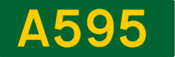 A595 road shield