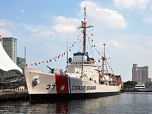 Queen of the Pacific - Image: USCGC Taney (WHEC 37) in Baltimore