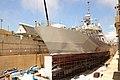 USS Fort Worth is in dry dock. (9183935741).jpg