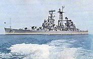USS Galveston (CLG-3) underway in 1963