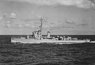 USS <i>Howard D. Crow</i> (DE-252)
