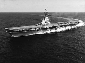 SCB-27 - USS Intrepid showing her SCB-27C configuration.