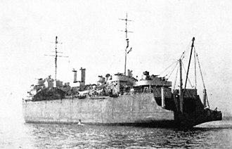 USS Keokuk (CMc-6) - Image: USS Keokuk (AKN 4)