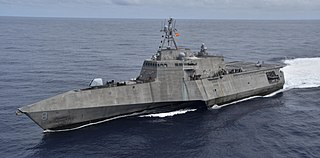 USS <i>Montgomery</i> (LCS-8) Independence-class littoral combat ship