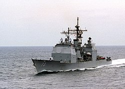 USS Port Royal (CG 73) in the Persian Gulf 1997.jpg