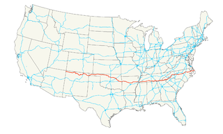U.S. Route 64 highway in the United States
