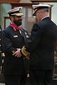 US Navy 040309-N-2383B-045 Rear Adm. Suhail M.S. Al Marar, Commander United Arab Emirates Naval Forces, left, is congratulated by Adm. Vern Clark, Chief of Naval Operations (CNO) after receiving the Legion of Merit.jpg